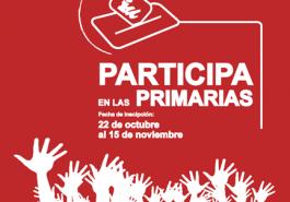 Participa en las primarias